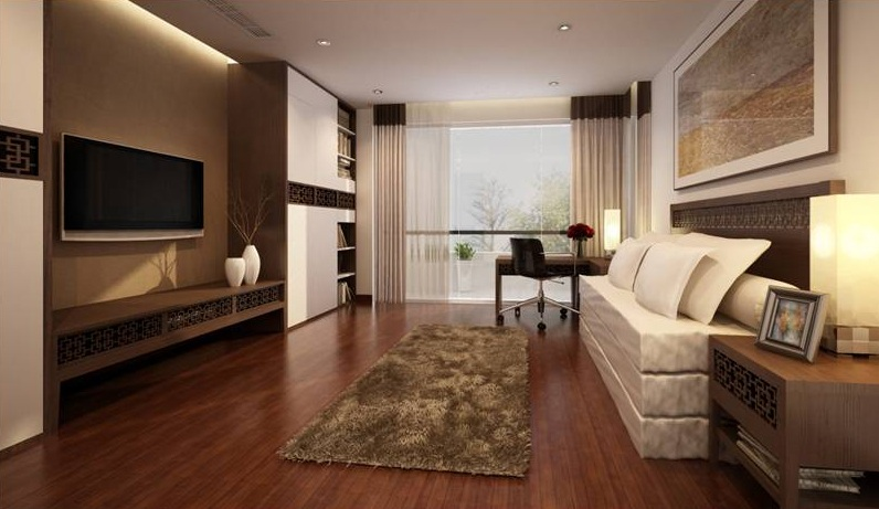 Serviced apartment near Syrena Shopping Center