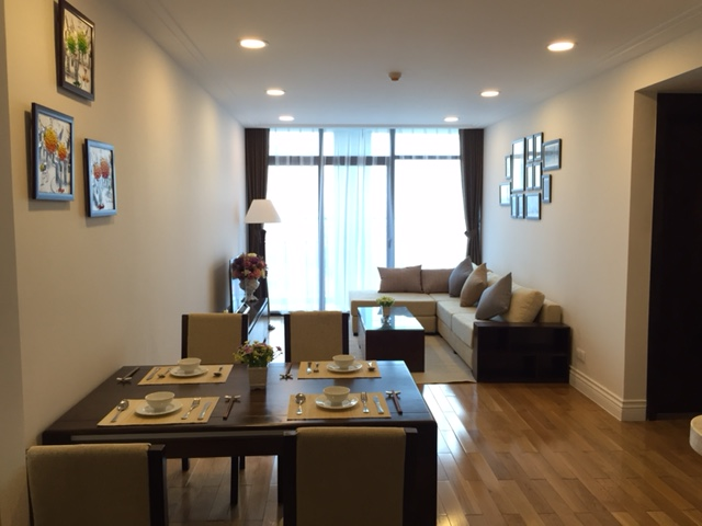 Modern stylish 2 double bedroom condo in Hoang Thanh Tower