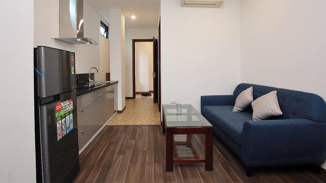 Ba Dinh区における新築のサービスアパート