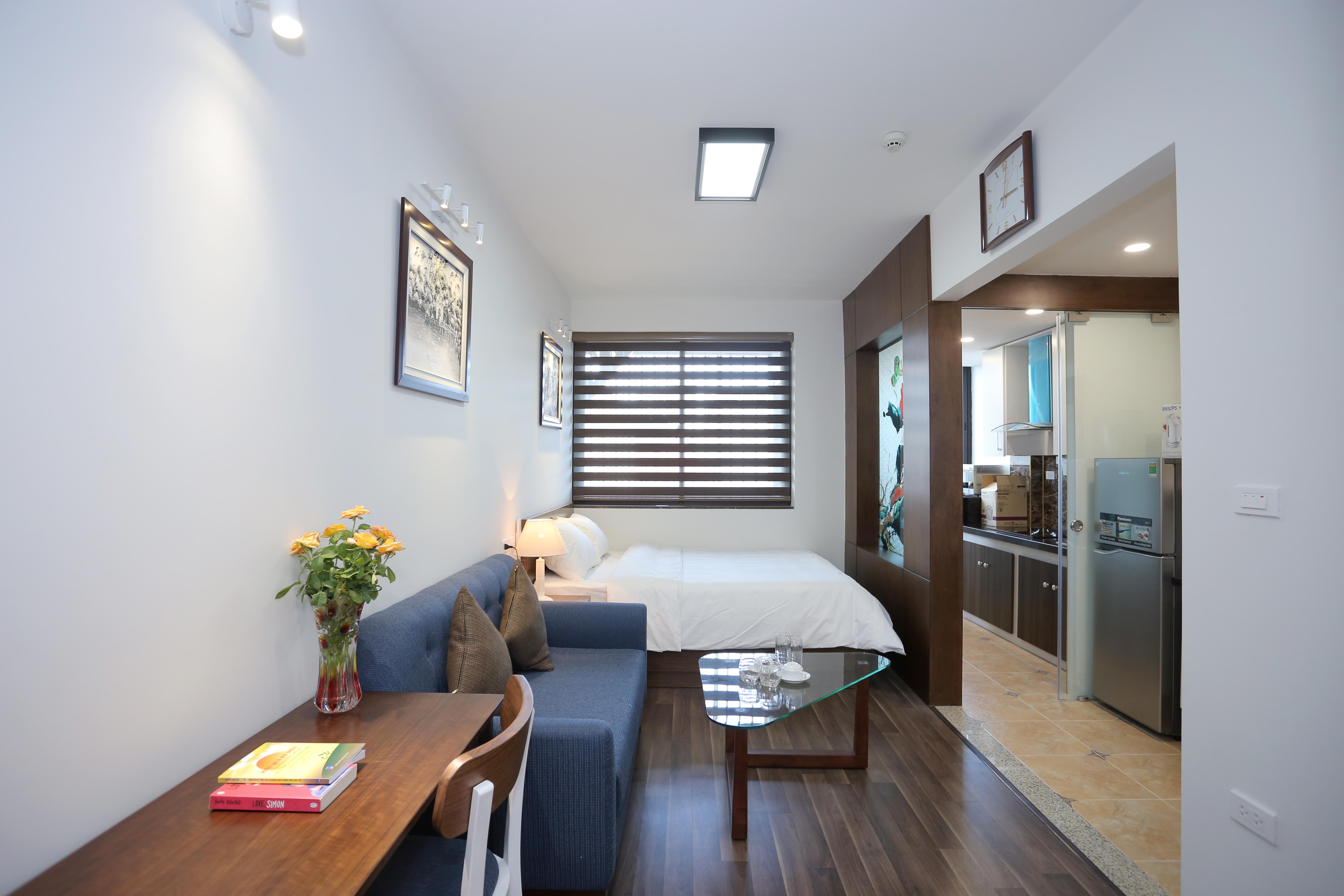 Ba Dinh区におけるサービスアパート