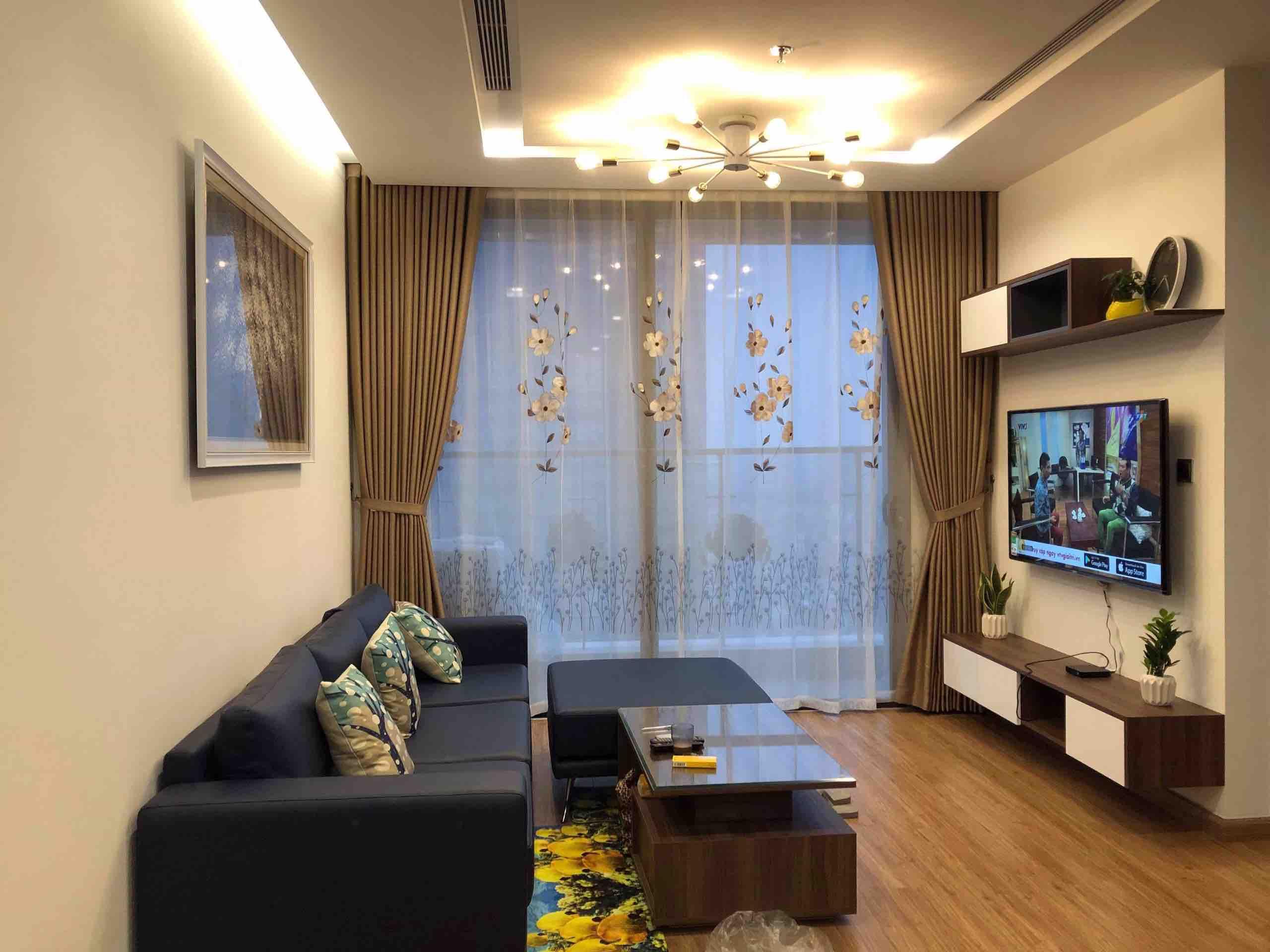 Vinhomes Metropolis (ヴィンホームズ メトロポリス) における家具付きの2ベッドマンション