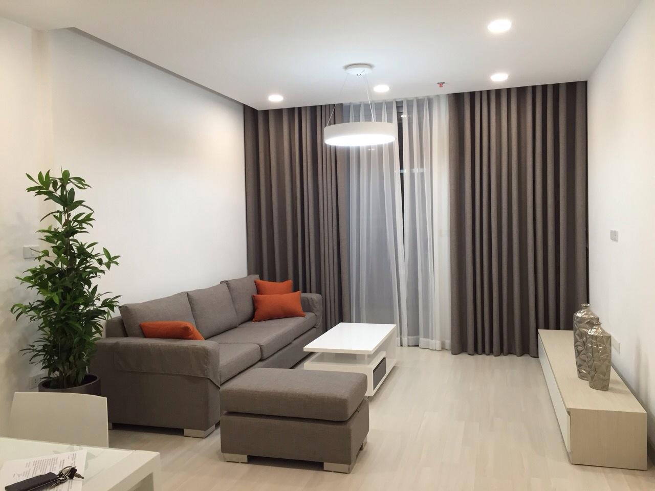 Vinhomes Nguyen Chi Thanh アパートにおける2BRお部屋